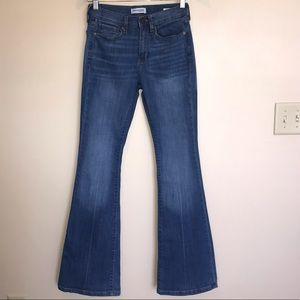 Banana Republic Premium Denim Flare Jeans
